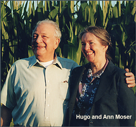 Hugo and Ann Moser