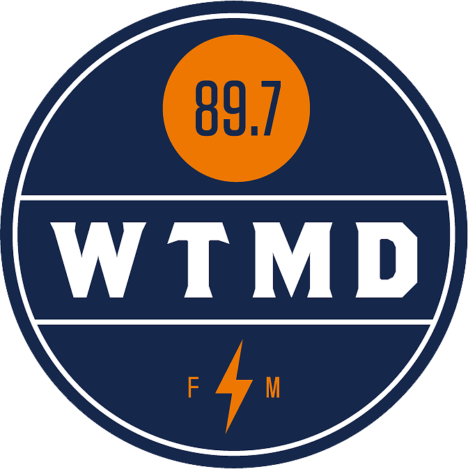 Company logo for WTMD 89.7